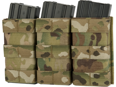Esstac Triple Tall 5.56mm KYWI Magazine Pouch (Color: Multicam)