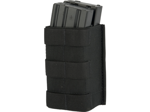 Esstac Double Stack  5.56mm KYWI Magazine Pouch (Color: Black)