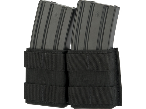 Esstac Double 5.56mm Shorty KYWI Magazine Pouch (Color: Black)