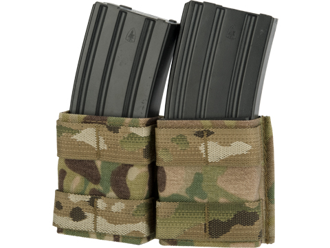 Esstac Double 5.56mm Shorty KYWI Magazine Pouch (Color: Multicam)