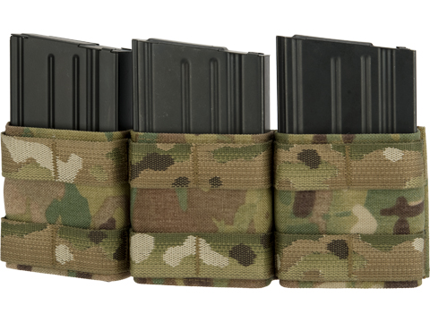 Esstac Triple 7.62mm Shorty KYWI Magazine Pouch (Color: Multicam)