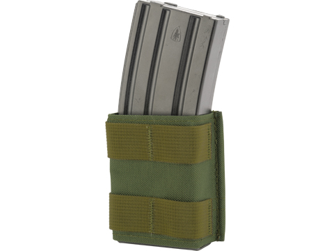 Esstac Single Shorty 5.56mm KYWI Magazine Pouch (Color: OD Green)