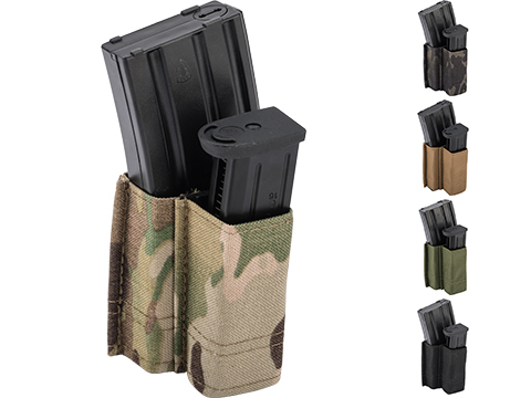 Esstac 5.56 1+1 KYWI Shorty Double Stack Magazine Pouch with Belt Loops (Color: Multicam)