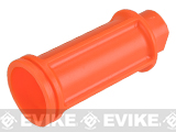 Orange Plastic Flashhider for CQB Style M4 AEGs (Positive)