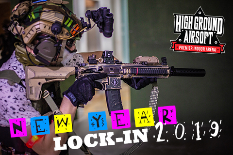 High Ground Airsoft New Year Lock-in 2019 (Tuesday December 31st, 2019)