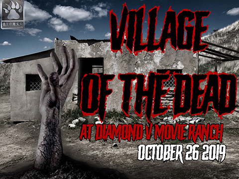 Operation Village of the Dead (October 26th, 2019, Diamond V Movie Ranch, Santa Clarita, California)
