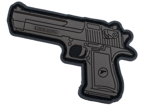 EMG Miniaturized Weapons PVC Morale Patch (Type: Desert Eagle .50)