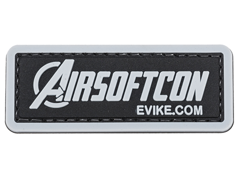 Evike.com Infinite AIRSOFTCON Rectangular PVC Patch