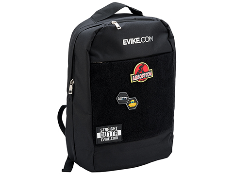 Evike.com Large Hook and Loop Panel Backpack (Color: Black)