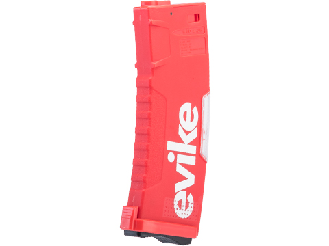 Evike.com BAMF GEN2 Polymer 190rd Mid-Cap Magazine for M4 / M16 Series Airsoft AEG Rifles (Model: Red / Single Mag)