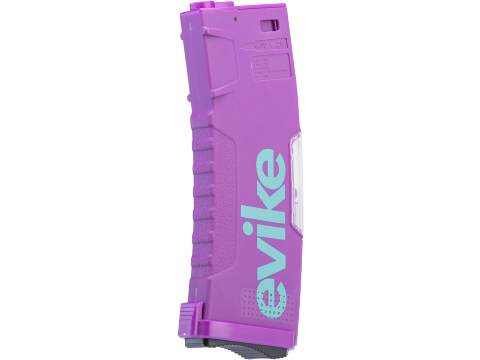 Evike.com BAMF GEN2 Polymer 190rd Mid-Cap Magazine for M4 / M16 Series Airsoft AEG Rifles (Model: Thanos / Single Mag)