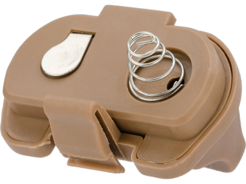 Matrix Replacement Tail Switch End Cap for M3 / M6 Series Flashlight or Laser (Color: Tan)