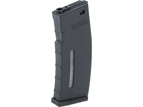 Evike.com BAMF 30rd Polymer MilSim Magazine for M4 / M16 Series Airsoft AEG Rifles (Color: Black / Single)