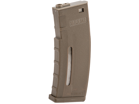 Evike.com BAMF 30rd Polymer MilSim Magazine for M4 / M16 Series Airsoft AEG Rifles (Color: Tan / Single Magazine)