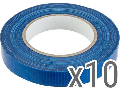 Evike.com 3/4 Official Water Resistant Airsoft Safety Marking Tape (Color: Blue / 164ft / 10 Pack)