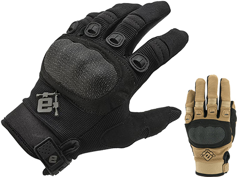 Evike.com Field Operator Full Finger Tactical Shooting Gloves (Color: Tan / Medium)