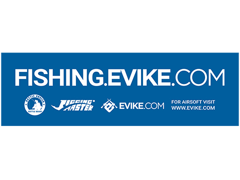 Fishing.Evike.com Battle Angeler Sticker (Size: 2 x 6.5)