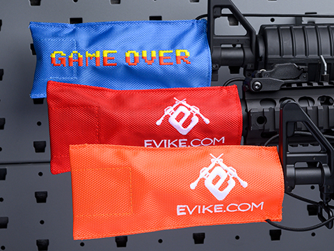 Evike.com Tactical Airsoft Barrel Cover w/ Bungee Cord (Model: RBP / Red / Regular)