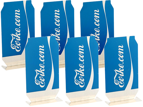 Evike.com ePopper Practical Shooting Popper Targets (Package: Evike Cola x6 / Blue)