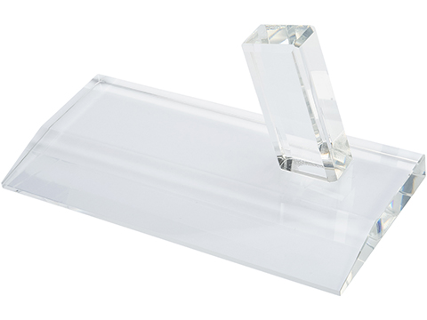 Evike.com Glass Pistol Display Stand