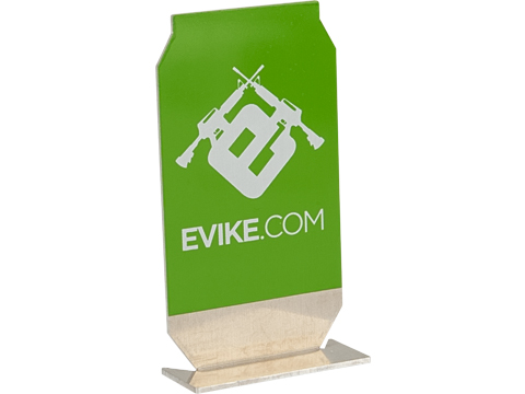 Evike.com ePopper Practical Shooting Popper Targets (Package: Evike Logo x1 / Green)