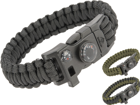 Evike.com Paracord Advanced Survival Bracelet with Firestarter