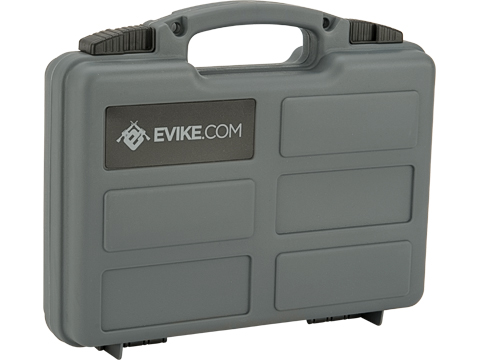 Evike.com Armory Case w/ Customizable Grid Foam (Color: Wolf Grey)