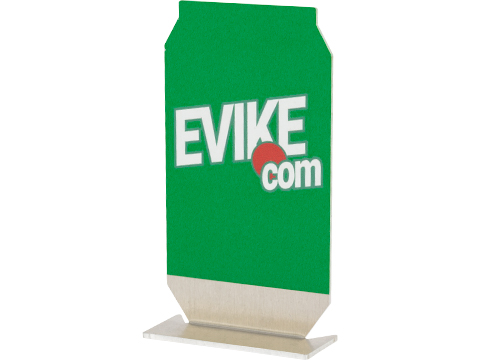Evike.com ePopper Practical Shooting Popper Targets (Package: Evike Soda Logo x1 / Green)