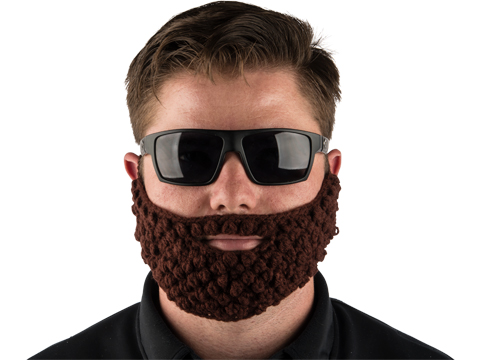 Matrix Big Beard Operator Face Mask (Color: Brown)