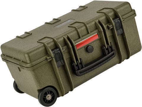 Evike.com Carry-On Equipment Rolling Case w/ Customizable Grid Foam (Color: OD Green)