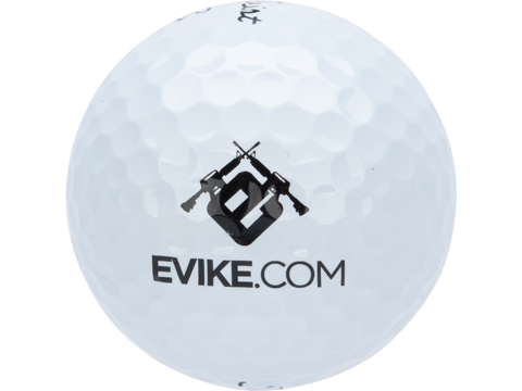 Titleist Pro V1 Golf Balls with Custom Evike Logo (Type: Pack of 12)