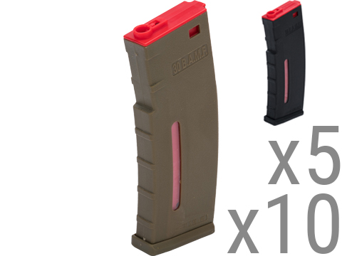 Evike.com BAMF 30rd Polymer MilSim Training Magazine for M4 / M16 Series Airsoft AEG Rifles