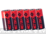 Evike.com High Performance CR123A 3V Lithium Battery for Tactical & Electronic Equipments (Box of 6)