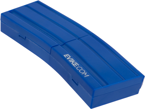 Evike.com M4 AR15 Magazine Shaped Accessory Tool Box (Color: Blue / Evike.com)
