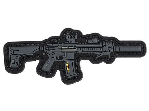 Evike.com Armory Collection PVC Morale Patch (Model: HK416)