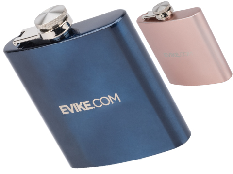 Evike.com 6oz Stainless Steel Beverage Flask