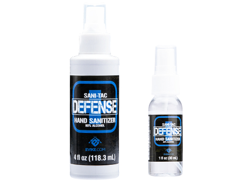 Evike Made in USA Sani-Tac Defense 80% Alcohol Liquid Hand Sanitizer by Otis Technology (Size: 4oz)
