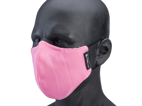 Evike.com NyCo Reusable Washable Face Mask (Color: Pink)