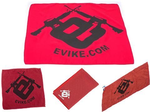 Evike.com Light Weight Airsoft Mil-Sim Essential Red Dead Rag (Type: Microfiber Towel)