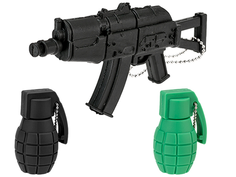Evike.com 3.75GB USB KeyChain (Version: AK-74U / Black)