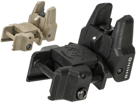 Dual-Profile Rhino Flip-up Rifle / SMG Sight by Evike - Front Sight