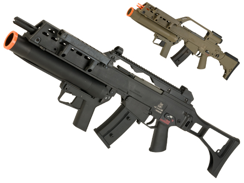 Evike Class I Custom H&K G36C / AG36 Grenadier Airsoft AEG EBB Rifle by UMAREX w/ Integrated Scope