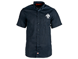Evike.com Dickies Work Shirt - Evike Blue