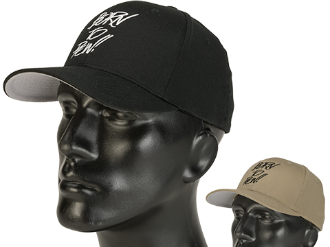 Evike.com Born to Pew FlexFit Fitted Hat - Black