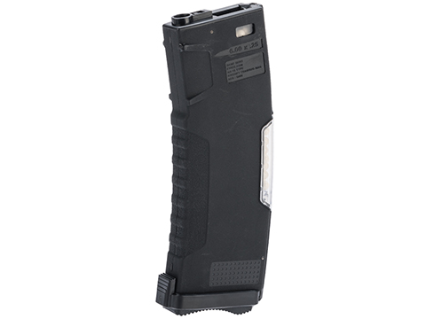 Evike.com BAMF GEN2 Polymer 450rd Hi-Cap Flash Magazine for M4 / M16 Series Airsoft AEG Rifles (Model: Black / Single Mag)