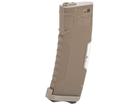 Evike.com BAMF GEN2 Polymer 190rd Mid-Cap Magazine for M4 / M16 Series Airsoft AEG Rifles (Model: Tan / Single Mag)