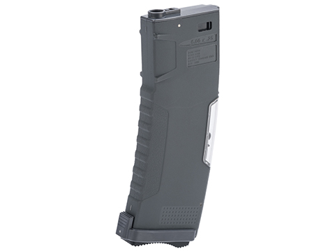 Evike.com BAMF GEN2 Polymer 190rd Mid-Cap Magazine for M4 / M16 Series Airsoft AEG Rifles (Model: Gray / Single Mag)