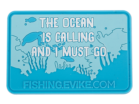 Evike.com The Ocean is Calling PVC Morale Patch