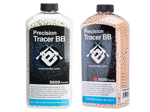 Evike.com Match Grade 6mm Airsoft Tracer BBs