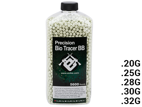 Evike.com Biodegradable Match Grade 6mm Airsoft Tracer BBs